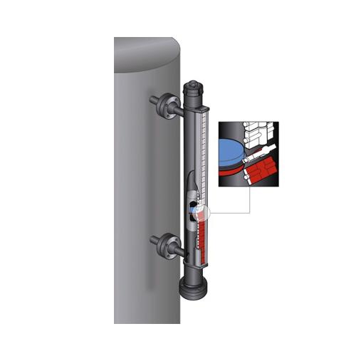 side-mounted-magnetic-level-gauge